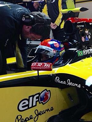 Pietro Fittipaldi teste DAMS World Series