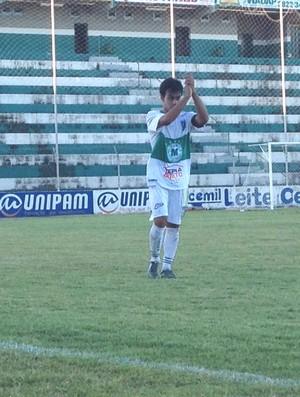 Gilbertinho, jogador do Nacional-MG (Foto: Gullit Pacielle)