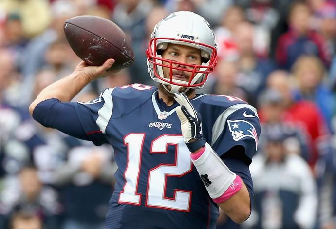 New England Patriots x New York Jets - Semana 7 NFL - Tom Brady (Foto: Jim Rogash / Getty Images)