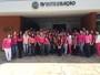 Colaboradores da TV Integração participam de ação do 'Outubro Rosa'