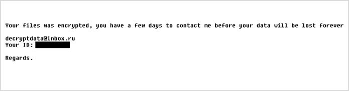 Ransomware criptografa arquivos importantes e impede o acesso de vítimas (Foto: Divulgação/ACG)
