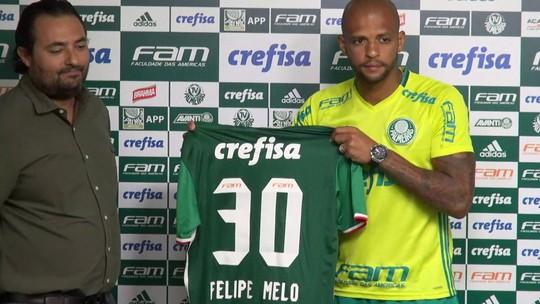 Reforço do Palmeiras, Felipe Melo diz ter recebido proposta do São Paulo