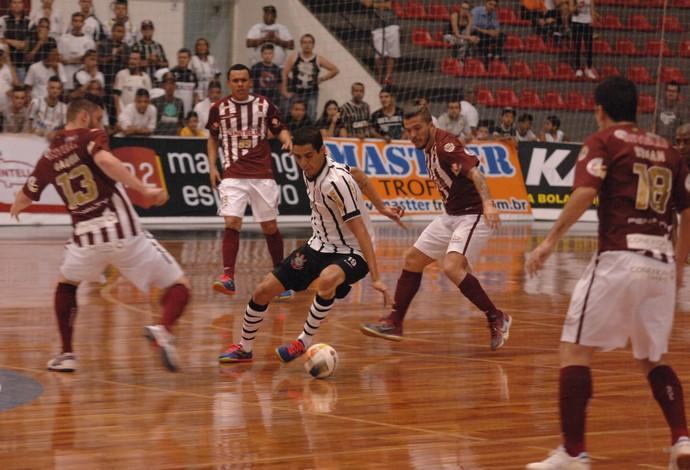 Corinthians Orlândia final liga paulista de futsal (Foto: Ricardo Bastos/Fotoarena)