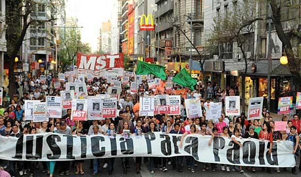Caso gerou manifestações na Argentina. (Foto: BBC)