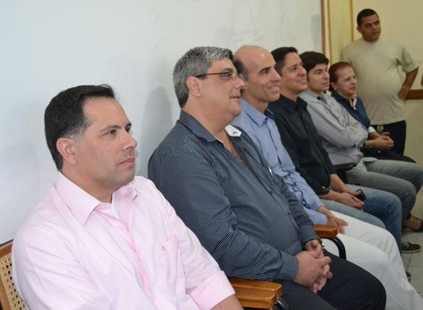 Equipe da TV Sergipe na reunião (Foto: Divulgação / TV Sergipe)
