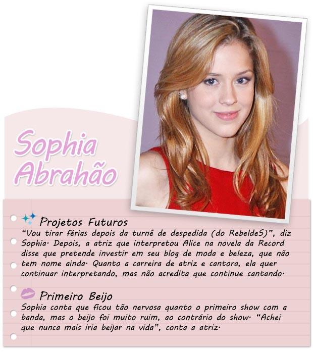 Sophia Abrahaão  (Foto: Arte: Jennifer Defensor)