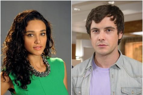 Sergio Guizé e Débora Nascimento (Foto: TV Globo)