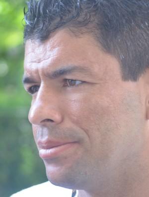 Schwenck, atacante do Guarani (Foto: Murilo Borges / Globoesporte.com)