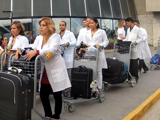 'Mais Médicos' chegaram ao Ceará em 2013 com contrato de trabalho de três anos (Foto: TV Verdes Mares/Reprodução)