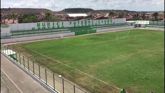 Bem-vindo a Murici: campo ruim e estádio pequeno vão receber Cruzeiro