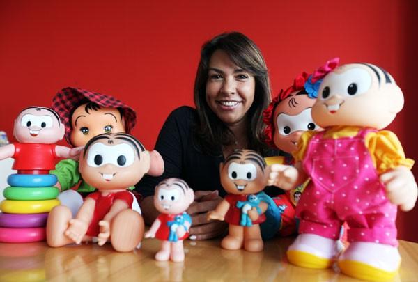Mônica Sousa é diretora-executiva da empresa do pai Mauricio de Sousa (Foto: Marcela Beltrão)