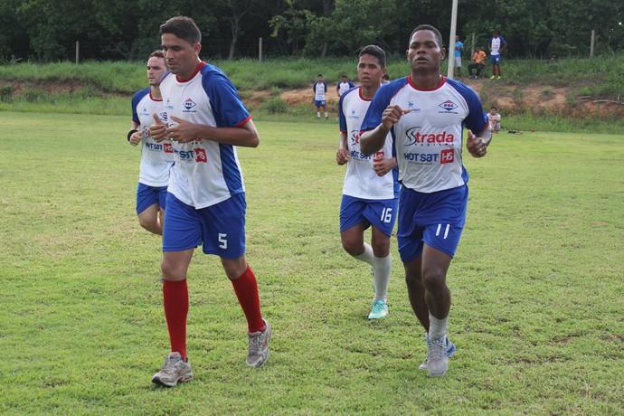 treino Enxuga Rato (Foto: Ramiro Pena/GloboEsporte.com)