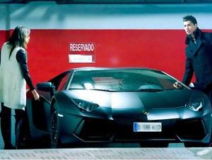 Lamborghini de CR7 (Foto: Splash News)