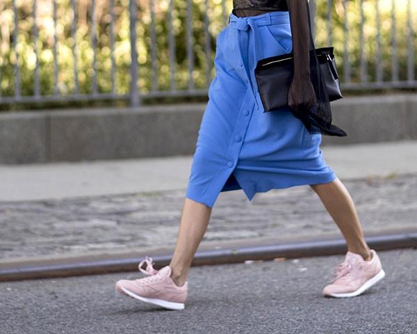 Criar um look sofisticado sem salto depende de conhecer o seu estilo e optar pelo conforto (Foto: Imaxtree)