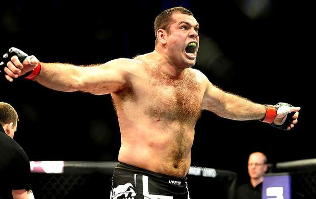 Gabriel Napão vence luta no UFC São Paulo (Foto: Marcos Ribolli / Globoesporte.com)