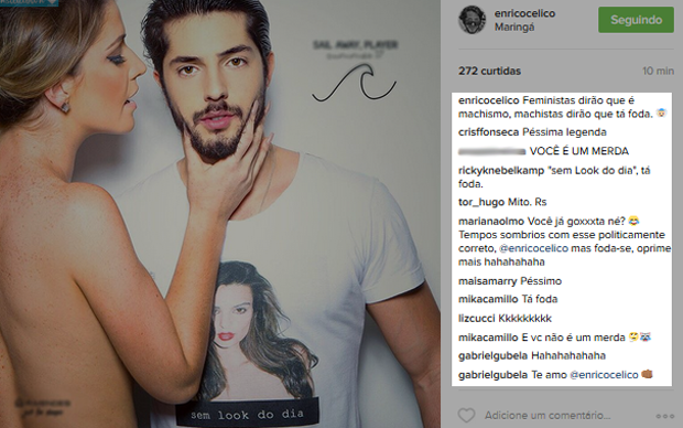 Enrico Celico  (Foto: Instagram / Reprodução)