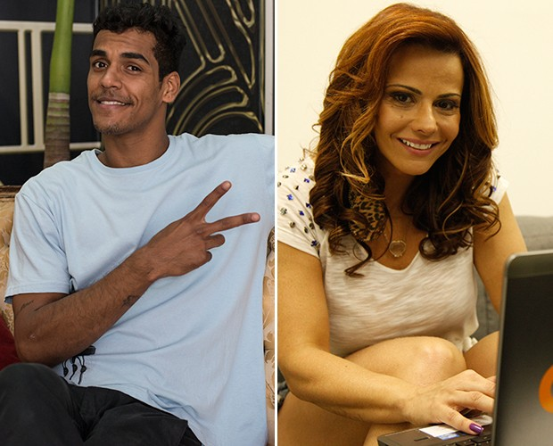 Marcello Melo Jr. x Vivi Araújo na semifinal da Audição das Estrelas (Foto: Gshow)