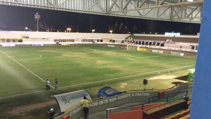 Estádio Nogueirão, em Mossoró - TR (Foto: Freire Neto)