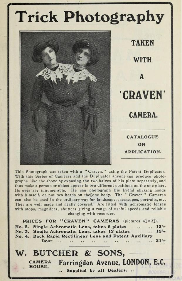 (Foto: Trick Photography: A Handbook, 1906/Domínio Público)