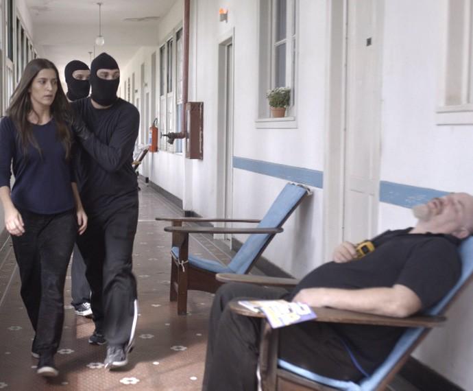 Lobão e Luiz sendo bandidos sem temer a lei! (Foto: TV Globo)