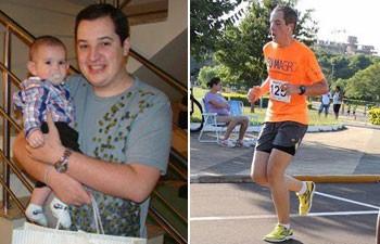 Luiz Gustavo Schiticoski emagreceu 40 kg com ajuda da psicologia do emagrecimento (Foto: Arquivo pessoal/Luiz Gustavo Schiticoski)