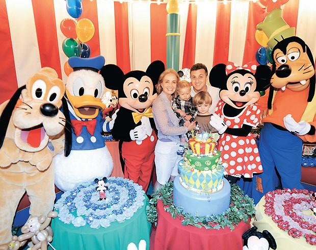 Benício ganhou festa de 1 ano na Disney (Foto: Divulgação)