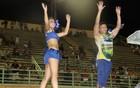 Dançarinos ensinam coreografias (Romulo de Sousa/G1 AM)