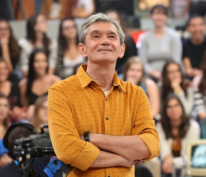 Serginho Groisman comemora aniversário de 66 anos (Foto: Carol Caminha/Gshow)