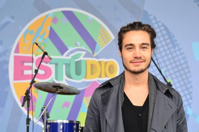 Tiago Iorc participa da festa de um ano do 'Estúdio C' (Foto: Estúdio C)