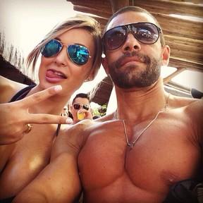 Andressa Urach e Marcelo Nadur (Foto: Reprodução/Instagram)