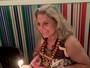 Vera Fischer ganha bolo de aniversário após peça em Minas
