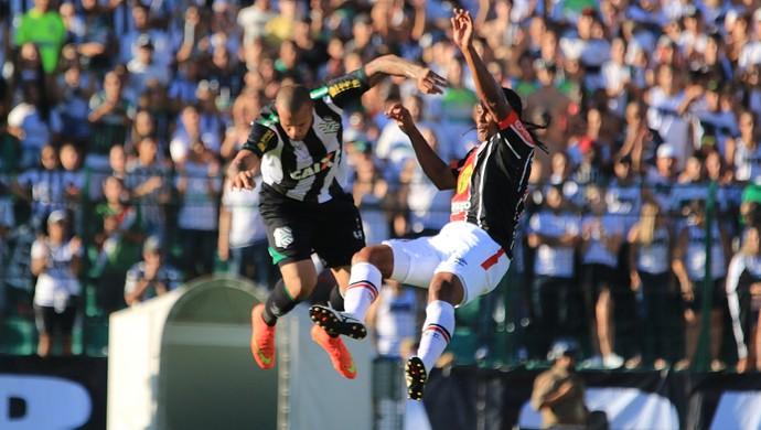 França Kempes figueirense x joinville (Foto: Luiz Henrique/Figueirense FC)