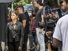 Loira e poderosa, Giovanna Antonelli grava cenas da próxima novela das 9