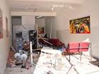 Cerca de 12 homens explodem caixas eletrônicos no interior da Bahia