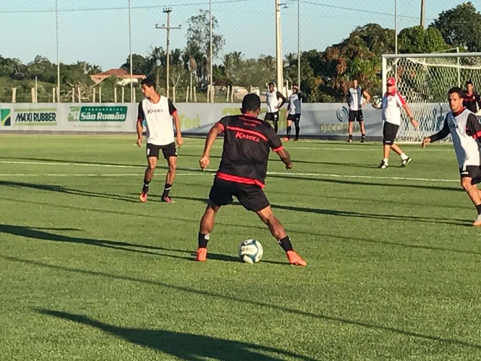 Rubro-Negro faz a sua estreia na Série D do Campeonato Brasileiro jogando fora de casa, contra o Atlético Pernambucano, no domingo (Foto: Silas Batista / GloboEsporte.com)