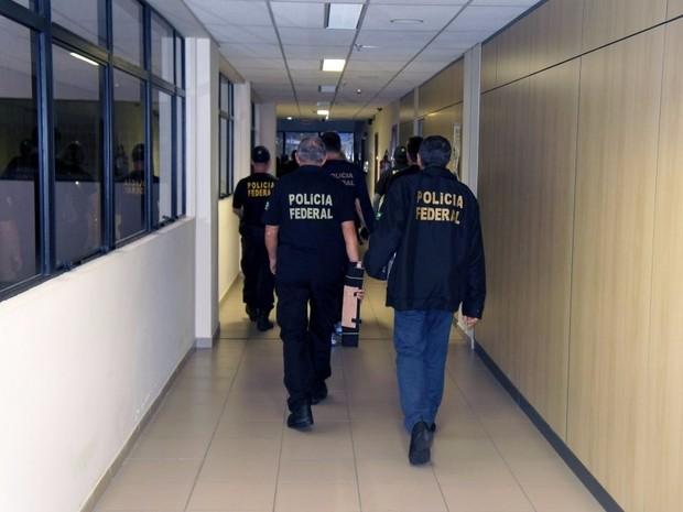Material apreendido pelos agentes foram levados para a sede da Polícia Federal, em Natal (Foto: Divulgação/PF)