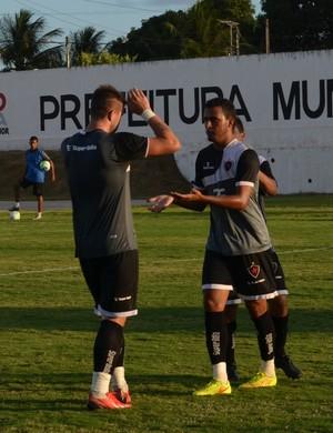Jeorge, Botafogo-PB, atacante, amistoso (Foto: Pedro Alves / GloboEsporte.com)