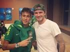 Neymar tieta David Beckham