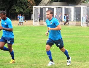 Túlio Maravilha no treino do Botafogo (Foto: Fred Huber / Globoesporte.com)