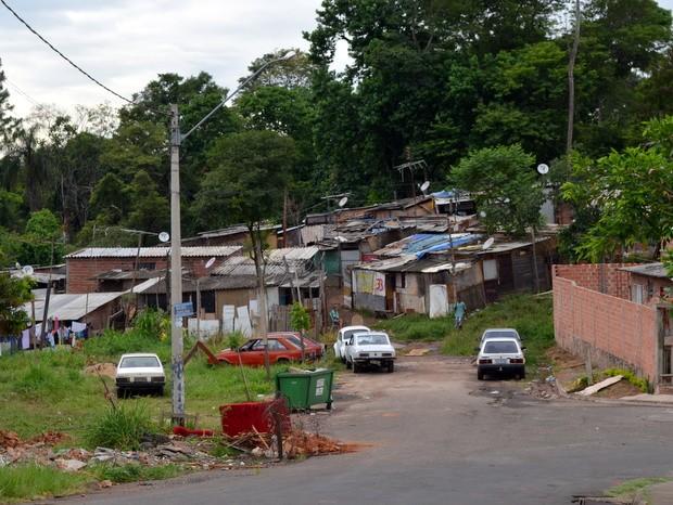 Diego Ferreira da Silva foi morto dentro da favela do Parque do Sabiá em Piracicaba (Foto: Leon Botão/G1)