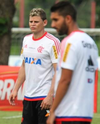 Treino Flamengo - Luxemburgo e Jonas (Foto: Gilvan de Souza/Flamengo)