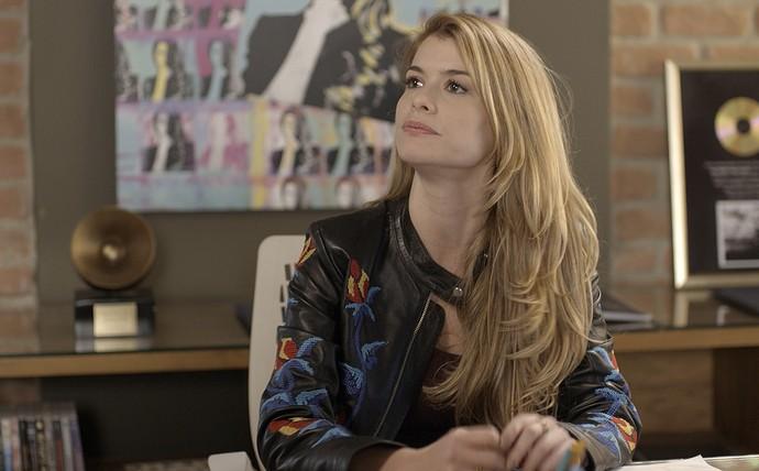 Diana garante a Vanessa que não quer voltar com Gui (Foto: TV Globo)