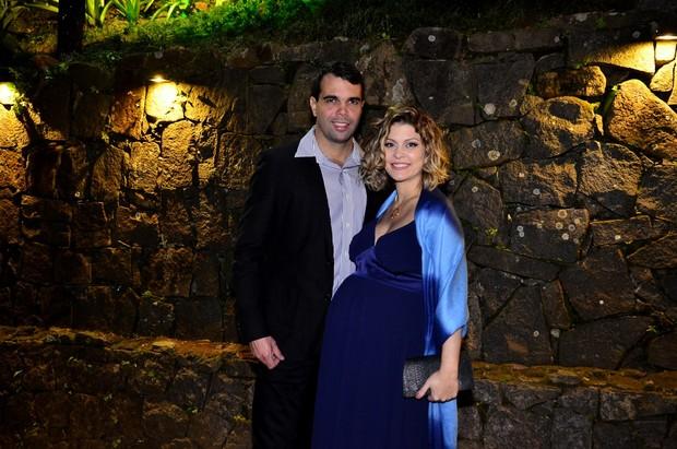 O casal Pedro Delfino e Bárbara Borges (Foto: Roberto Teixeira/EGO)