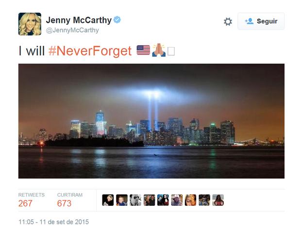 Jenny McCarthy (Foto: Reprodução/Twitter)