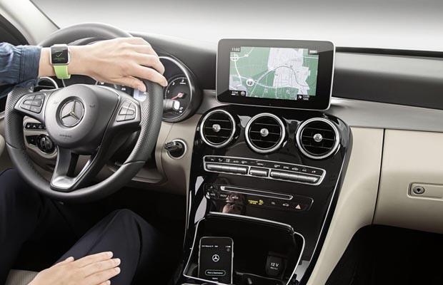 App Apple Watch da Mercedes (Foto: Divulgação)