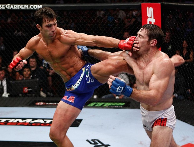 Luke Rockhold x Tim Kennedy Strikeforce MMA (Foto: Getty Images)