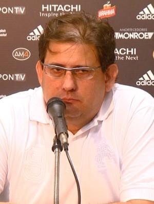 Guto Ferreira, técnico da Ponte Preta (Foto: Reprodução EPTV)
