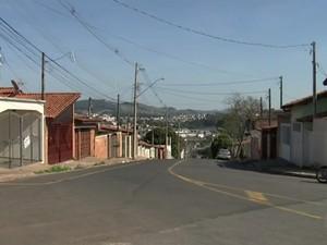 Crime aconteceu em Itatiba no sábado (23) (Foto: Reprodução/TV TEM)