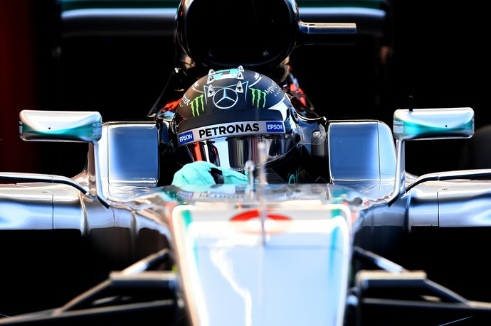 Nico Rosberg Mercedes F1 Barcelona 2016 (Foto: Getty Images)