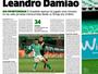 Jornal espanhol destaca que Leandro Damião caiu no ostracismo no Betis